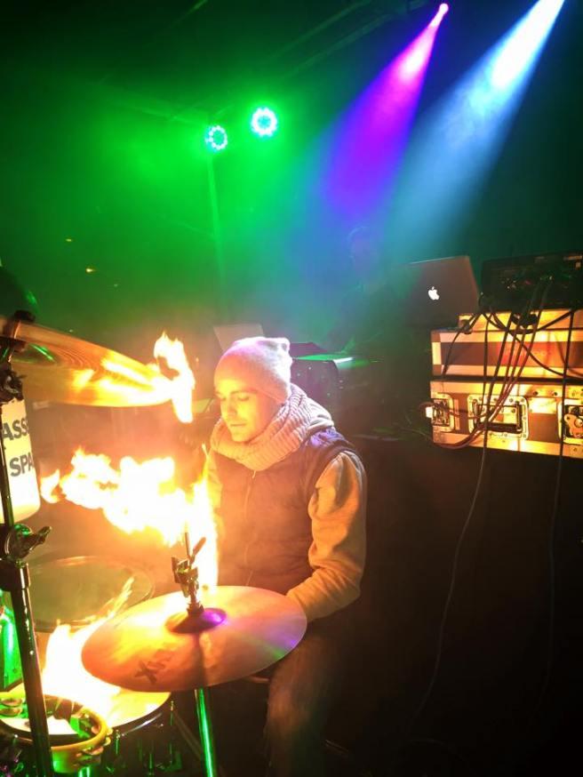 Austrian Drumpower vs. DJ / Baden 2015